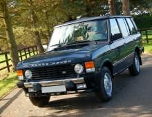 Range Rover Classics – 1971-1995