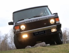 Range Rover County 1990 -sold to Lapland