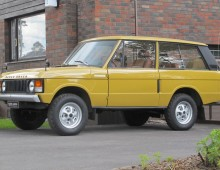 Range Rover 1975 -Suffix D sold to California