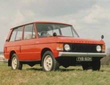 Range Rover 1971 – under restoration