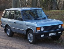 Range Rover Vogue 3.5 1989 -sold to Finland