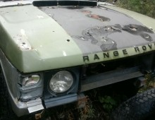 "Range Rover 1972 ""Suffix A"" project"