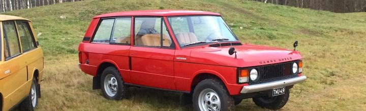 """Range Rover Classic """"Suffix A"""" 1971"""