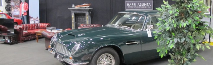 A rare Aston Martin DB6 Mk2 confirmed to our stand in Lahti Classic Motorshow