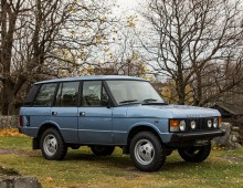 Range Rover 4-door 1982 sold to Germany