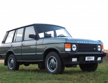 Range Rover Vogue SE 1989 -sold to Austria