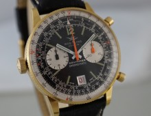 Breitling Navitimer 18K Chrono-Matic 1974 full set