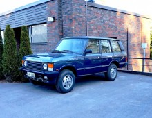 Range Rover Vogue EFi 5-speed 1988 -sold to Helsinki