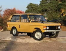 Range Rover 1971 Suffix A Bahama Gold -sold to Belgium
