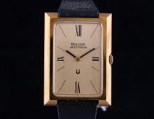 Bulova Accutron 18K gold New Old Stock 1974