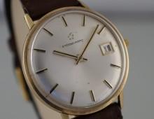 Eterna-Matic 14K gold automatic date 1965