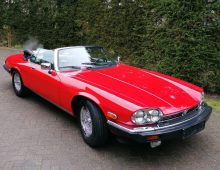 Jaguar XJ-S Convertible 1990