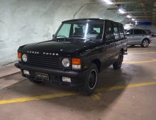 Range Rover Vogue SE 1990 5-speed -reserved