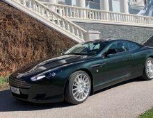 Aston Martin DB9 Coupé 2007 -sold